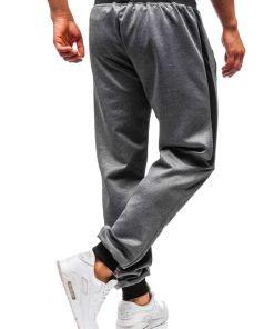 Pantaloni de trening barbati grafit Bolf 99011