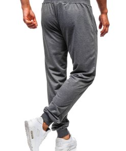 Pantaloni de trening barbati grafit Bolf MK05