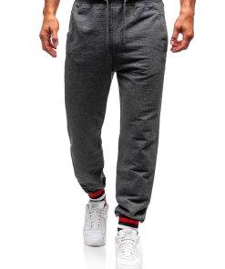 Pantaloni de training barbati grafit Bolf 145368