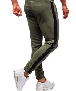 Pantaloni trening barbati kaki Bolf 11120