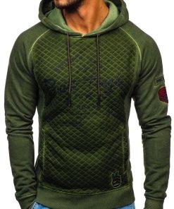 Hanorac barbati verde Bolf GK42