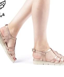 Sandale dama Mena roz