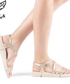 Sandale dama Raison aurii