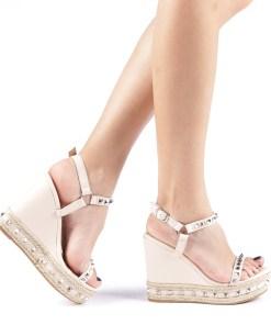 Sandale dama Cristiana bej