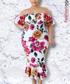 Rochie XXL Desire 214 Vivid