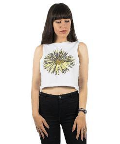Tricou Sunflower Crop Tank white