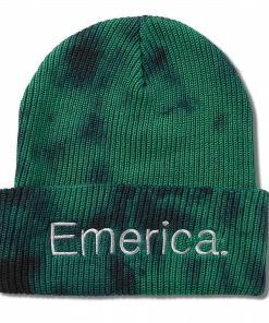 Caciula Tied Cuff Beanie green/black