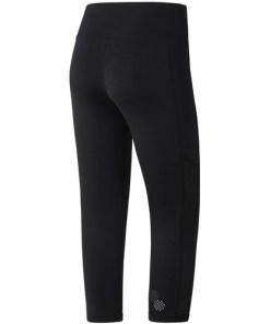 Colanti femei Reebok Fitness Running Essentials Capri 34 CE4655