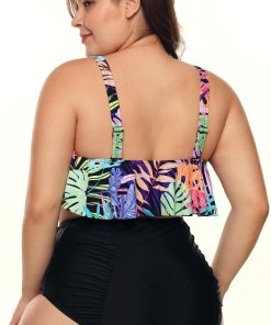 Bikini Tropical Plus Size Deneen Milticolorat
