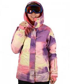 Jacheta Flake Print Outerwear Jacket hot candy