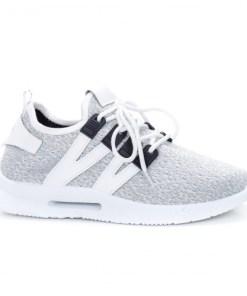 Pantofi barbati sport textil albi Hamilton -rl