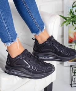 Pantofi sport dama textil negri Parius