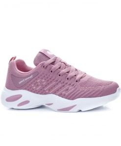Pantofi sport dama textil roz Pafaria