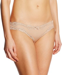TPH1370-155 Chilot clasic elegant, decorat cu dantela Brief Micro & Lace Mini