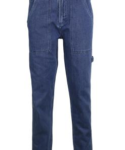 Blugi Pull and Bear Kora Dark Blue
