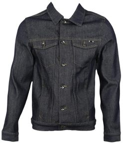 Geaca blugi ZARA Paul Dark Blue