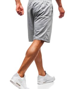 Pantaloni scurți sport bărbați gri Bolf DK01