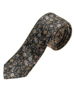 Cravată elegantă bărbați negru Bolf K100