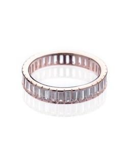 Inel Argint Pink Mora