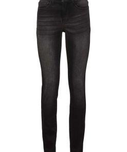 Blugi Slim modelatori cu ultra-stretch bonprix - negru