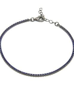 Bratara Argint Navy Blue S
