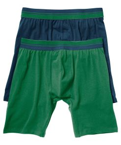 Chilot Boxer bonprix - bleumarin/verde