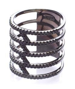 Inel Argint Black Z