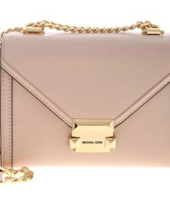 Michael Kors Small Whitney Shoulder Bag In Powder Pink Pink