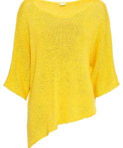 Pulover tricotatabonprix - galben aprins