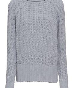 Pulover tricotatabonprix - gri deschis