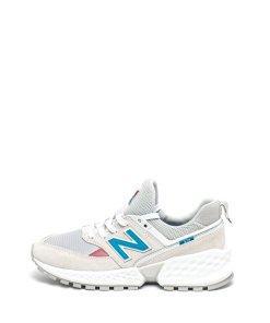 Pantofi sport din piele intoarsa si material textil 574 2143201