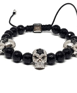 Bratara argint, skull collection, AR Jewels & Diamonds, ar1235
