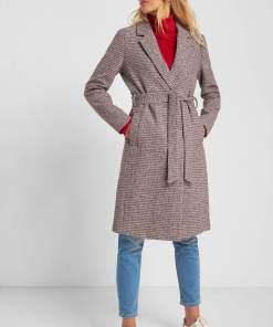 Palton cu lână - Piros