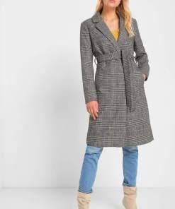 Palton cu lână - Bej