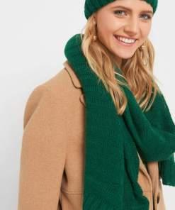Fular din tricot - Verde
