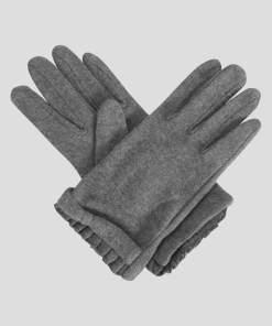 Mănuși cu volănaș - Gri