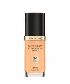Fond de ten 3 in 1 Max Factor Facefinity All Day Flawless, W70 Warm Sand, 30 ml