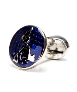 Butoni Camasa Rotunzi Albastru Cristal BU016 100