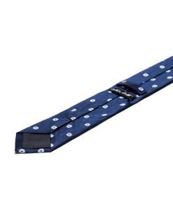 Cravata Matase Bleumarin Floral CR007-144
