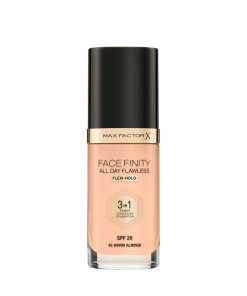 Fond de ten 3 in 1 Max Factor Facefinity All Day Flawless, N45 Warm Almond, 30 ml