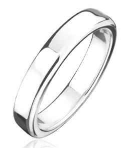 Bijuterii eshop - Inel argint 925 - banda mai groas? cu suprafata lucioasa H18.12 - Marime inel: 50