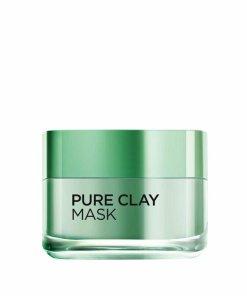 Masca purifianta pentru matifierea tenului L'Oreal Paris Pure Clay cu eucalipt, 50 ml