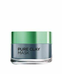 Masca revitalizanta pentru iluminarea tenului L'Oreal Paris Pure Clay cu extract de carbune, 50 ml