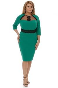 rochie-plus-size-janine-verde