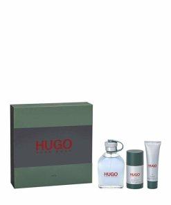 Set cadou Hugo (Apa de toaleta 125 ml + Deodorant stick 75 g + Gel de dus 50 ml), Pentru Barbati