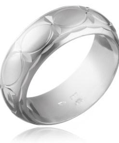Bijuterii eshop - Verigheta din argint 925 - boburi si stelute H14.16 - Marime inel: 49