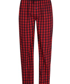 Pantalon pijama barbatesc Ceceba Mars Red