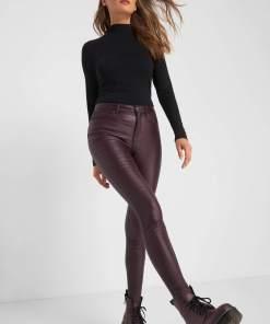 Pantaloni skinny cera?i