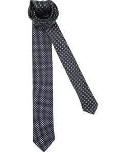 HUGO Cravata 'Tie 6cm'  albastru noapte / alb