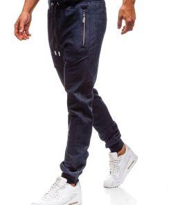 Pantaloni de trening bărbați bleumarin Bolf TC879